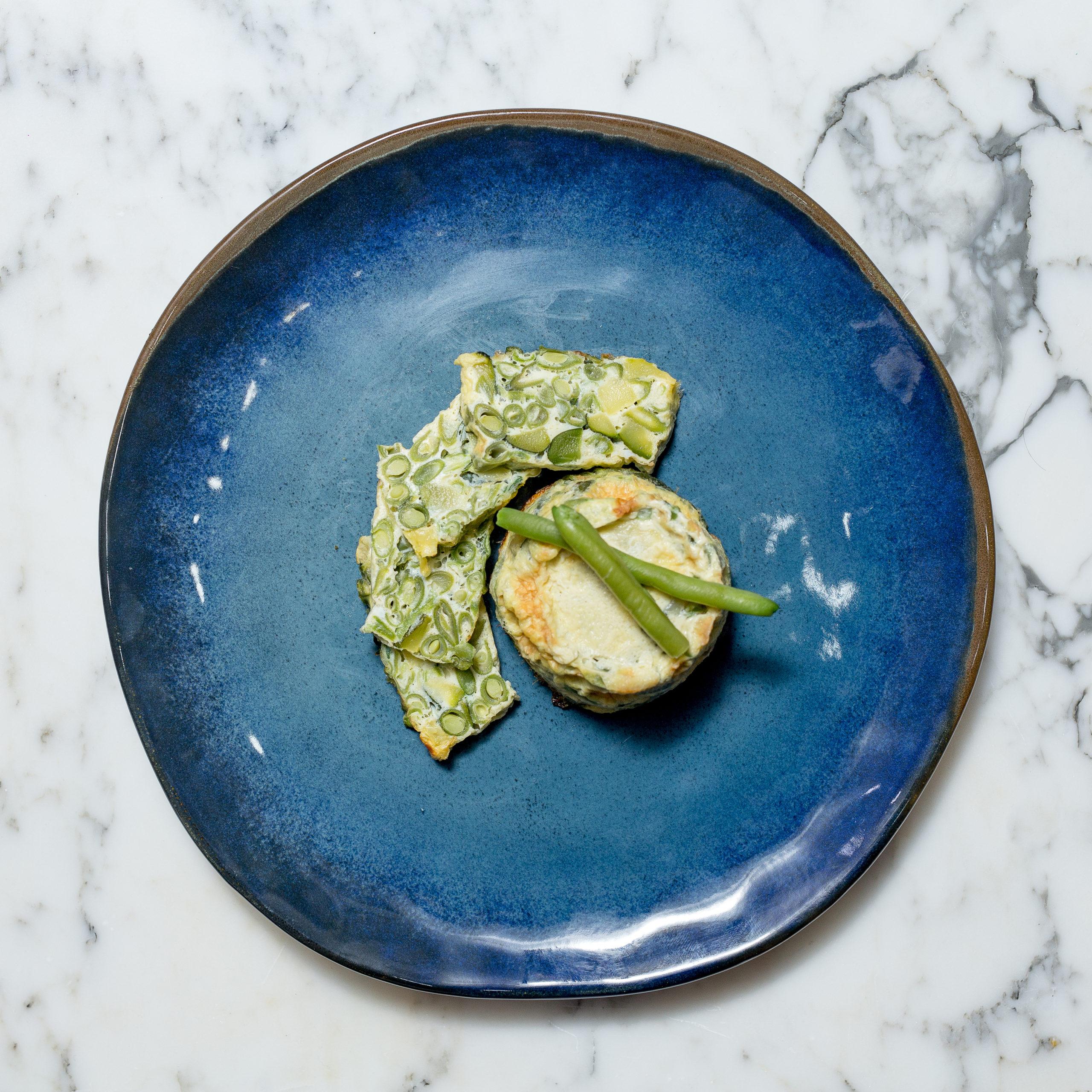 • Uova • Pangrattato • Parmigiano • Prezzemolo • Zucchine • Fagiolini